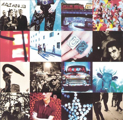 Achtung Baby - Album Cover