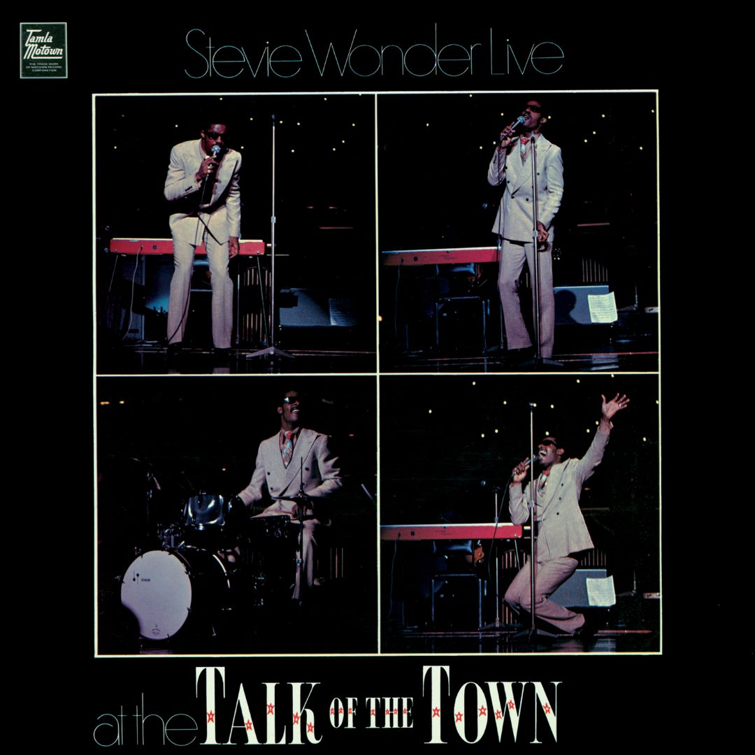 At The Talk Of The Town - Album Cover