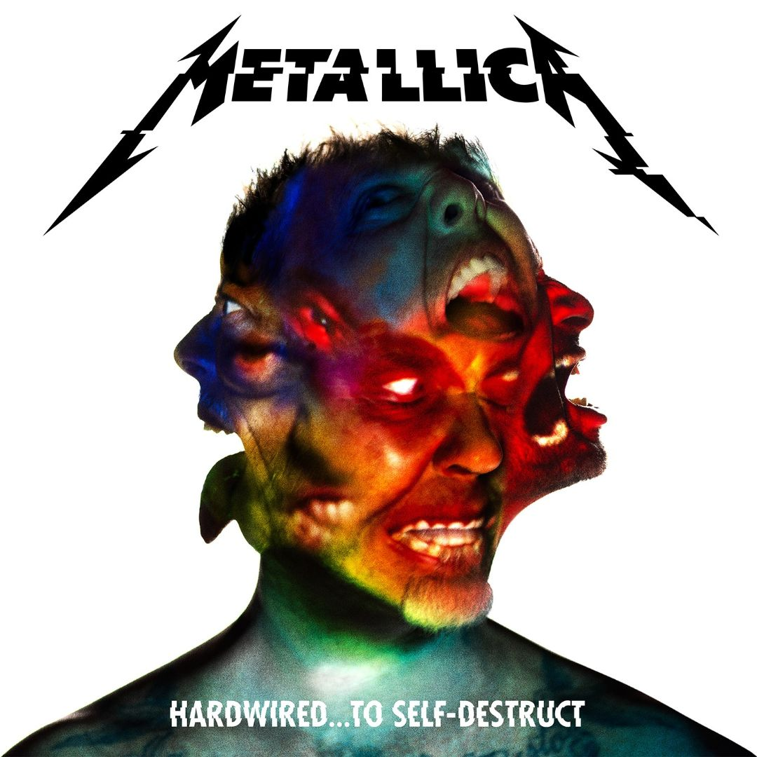 Hardwired ... To Self-Destruct - Album Cover