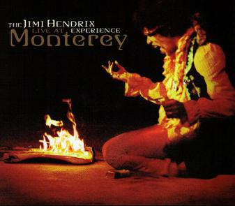 Live At Monterey - Album Cover