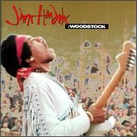 Hendrix Live at Woodstock - Album Cover