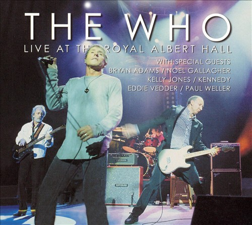 Live At The Royal Albert Hall - Album Cover