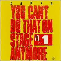You Can't Do That On Stage Anymore, Vol 1 - Album Cover
